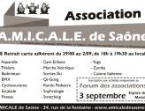 L'A.M.I.C.A.L.E de Saône