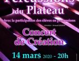 Concert de percussions du Plateau