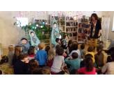 Contes de la Volga à la Médiathèque de Saône le 22 février 2017 : des enfants attentifs...
