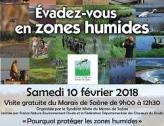 Visite du Marais de Saône